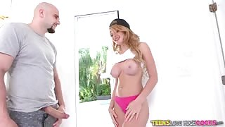 Sexy skyla novea catches jmac in the act and seduces him 2