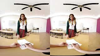 College Girl Fucked In Virtual Reality Porn