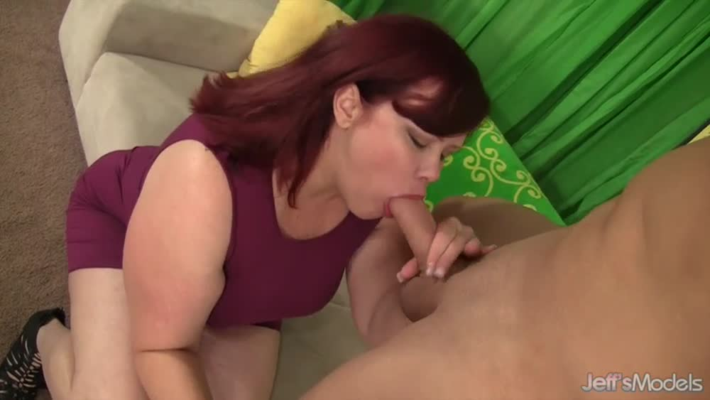 image Cock hungry bbw angelina gets her pussy reame