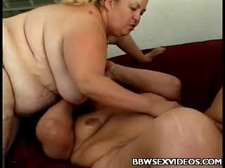 8 horny plumpers sharing 2 fat cocks 9